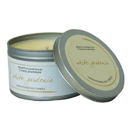 White Gardenia Large Soy Candle